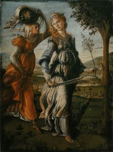 """Botticelli. """"I would be happier standing in an enormous shell."""""""