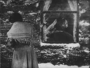 Buster is shot. (And I must say that the cinematography is lovely.)