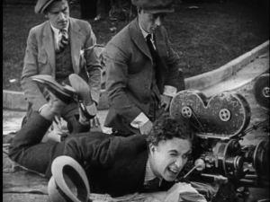 Charlie Chaplin directs.