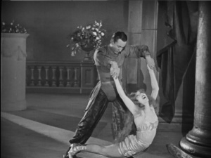 This is either a dance or the strangest chiropractor ever.