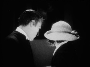 Would John Barrymore ever turn his back to camera without reason?