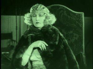 Mae Busch in vamp attire.