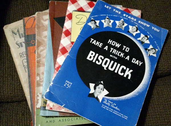 I don't know what they want me to do with Bisquick. I'm not sure I want to know.