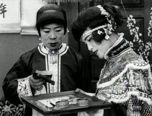 Marion (left) and Violet Wong