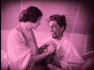Snitz Edwards and Barbara La Marr.