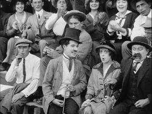 Chaplin's version of Mabel Normand is winning.