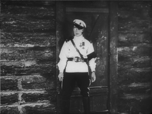 Buster rocks the uniform