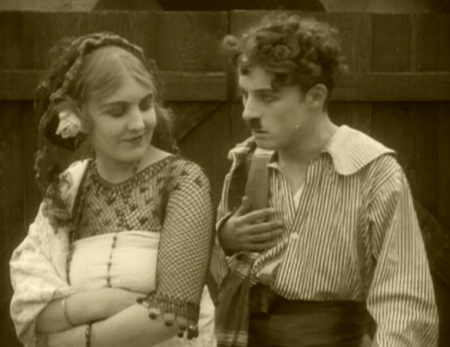 Only Chaplin's mustache gives away that this is a comedy.