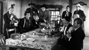 The large cast of Stagecoach.