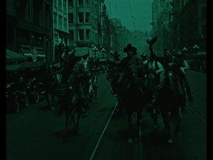 The title scene.