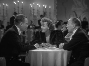 Garbo flirts!