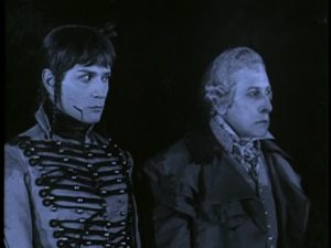 """Blanchar (left) in """"The Chess Player"""""""