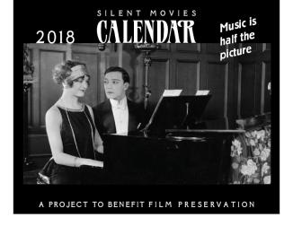 2018 calendar silent film
