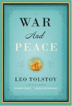"This edition of ""War and Peace"" weighs 2.6 lbs. as a paperback."