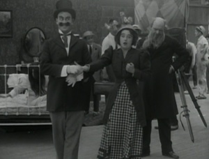 "Mabel Normand in ""Mabel's Dramatic Career"""