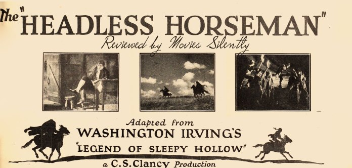 The Headless Horseman (1922) A Silent Film Review – Movies Silently
